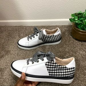Ron White Shoes Brylee Checkered Sneakers